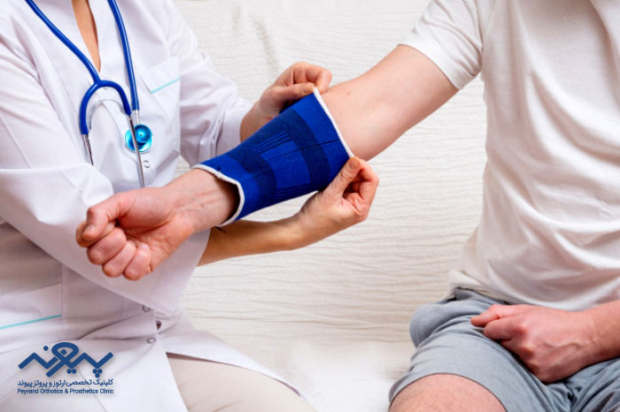 انواع بریس یا ارتوز برای درمان درد آرتروز